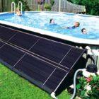 Le chauffage solaire pour la piscine