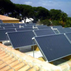Calculer la superficie des capteurs solaires